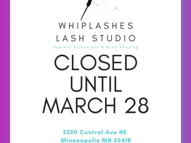 Closed Until March 28